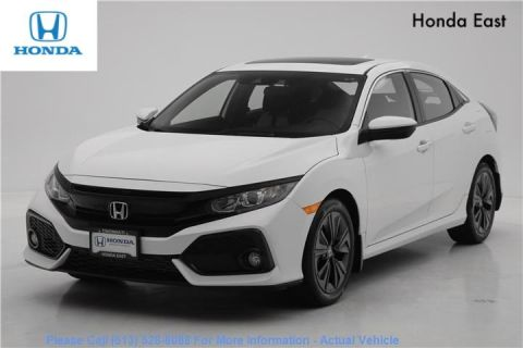 Certified Pre-Owned 2019 Honda Civic Hatchback EX